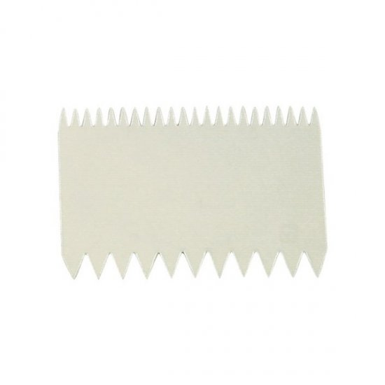 Double Sided Scraper Comb - 110 x 75mm